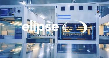 Elipse logo voor een industriële machine