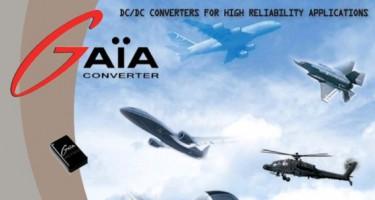 GAIA converter voor luchtvaart applicaties