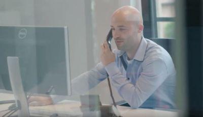 Telefonisch contact met klant